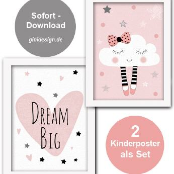 Kinderzimmer-Poster Download