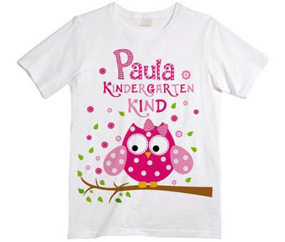 Kindergartenkind mit Name